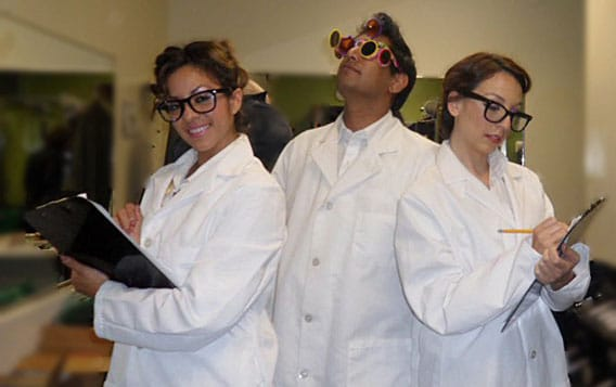 In the Mallick Lab, lab coats and goggles must be worn at all times. Clipboards are optional, but recommended.