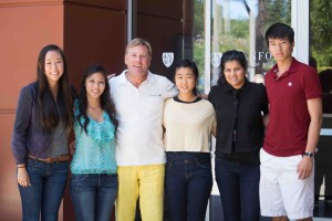 Canary Foundation founder, Don Listwin, and the Canary Center Interns